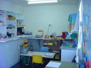 Sam's School room on the family farm.