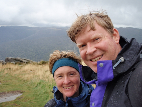 Zoe and her now husband Rob were adventure travellers and fitness junkies when cancer struck.