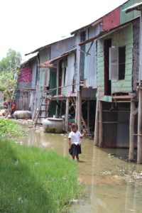 Andong slum grew after displaced people were dumped here to make room for development in Phomn Penh.