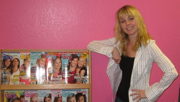 Lori's writing for 'tween' magazines helped her realise her desire to help others through writing.